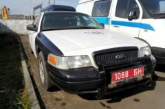 Фотофакт. МВД продает Ford Crown Victoria, состоявший на службе ГАИ